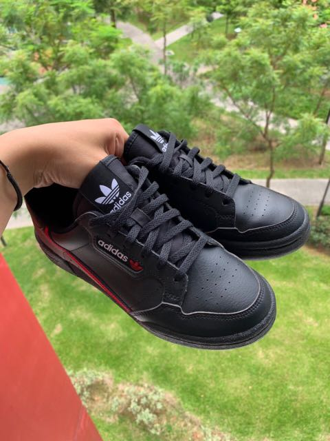 aea438c50976 Adidas Continental 80 Black, Women's Fashion, Shoes, Sneakers on ...