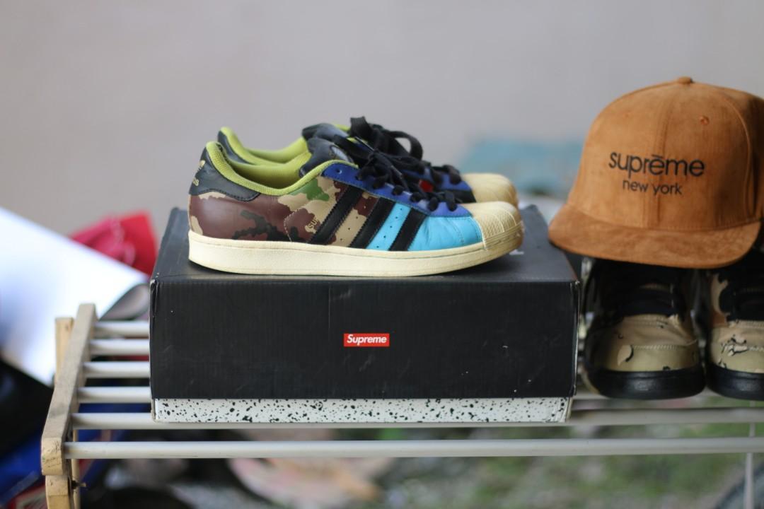 Adidas superstar army, Fesyen Pria