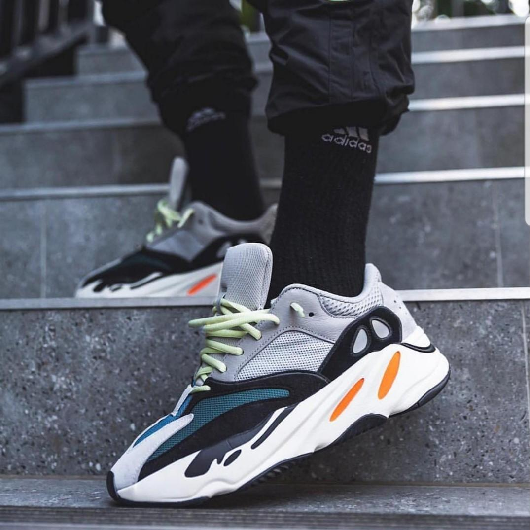 brand new cf7ed 394f2 Adidas Yeezy boost 700 wave runner, Men's Fashion, Footwear ...