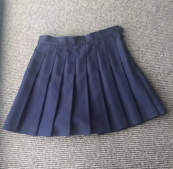 American Apparel Navy Tennis Skirt Womens S Clothing, Shoes & Accessories