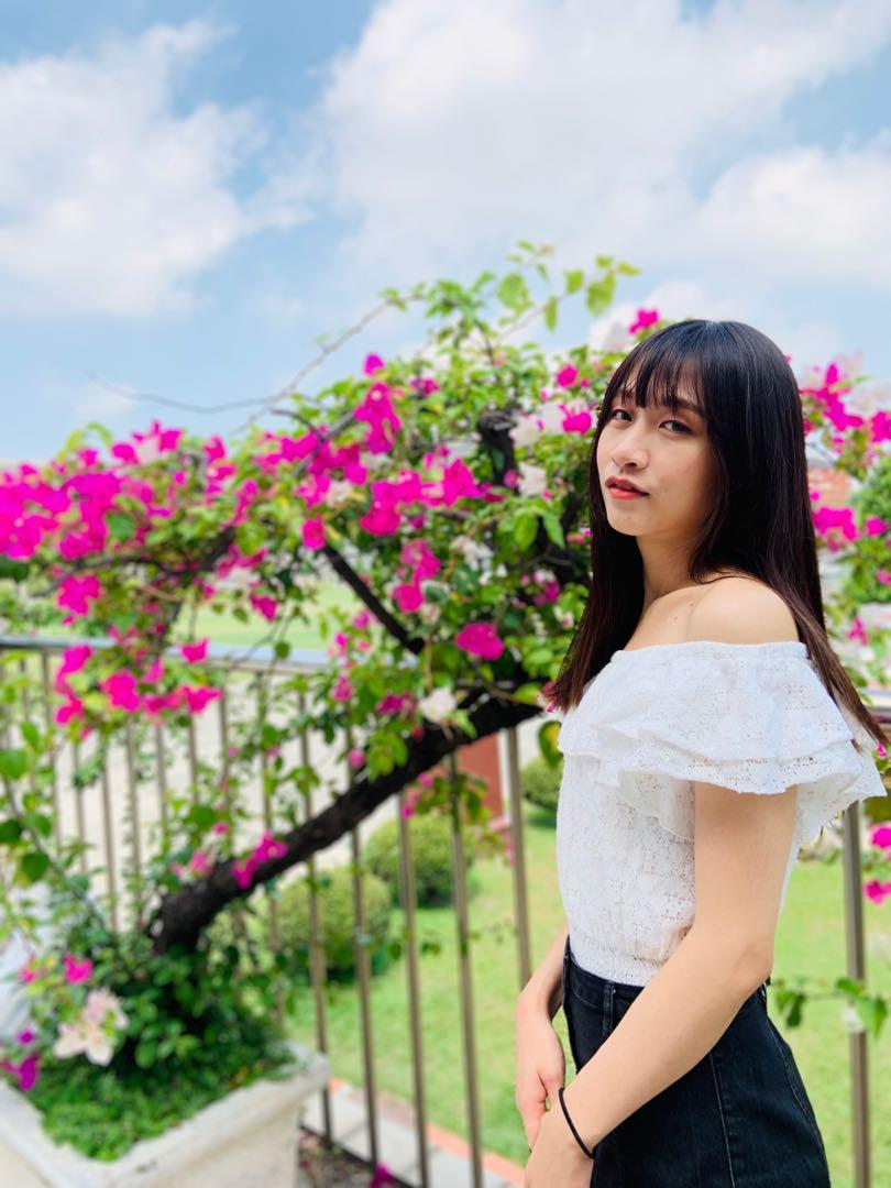 Ank Rouge正品一字領上衣 /浪漫日系