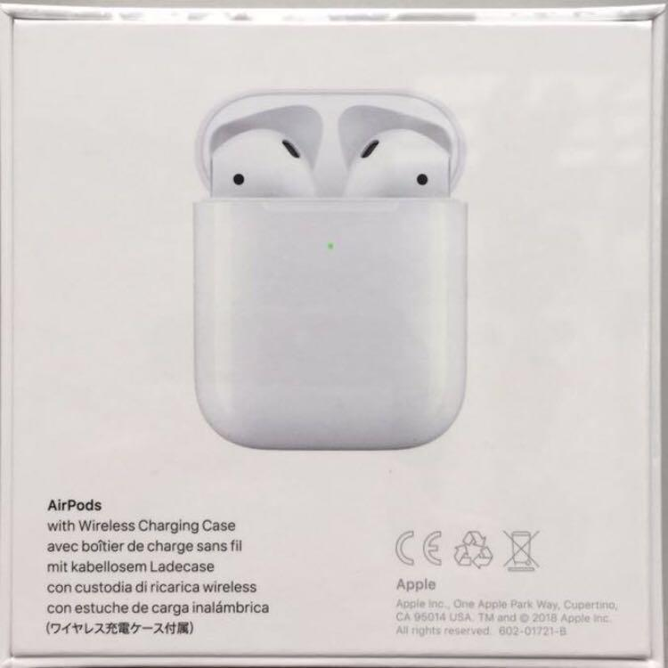 Apple AirPods with Wireless Charging Case 2019 Gen2 AirPod
