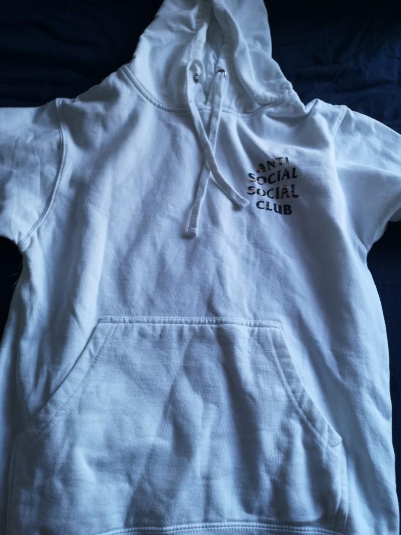 assc mirage white hoodie