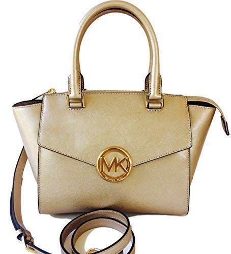eec5914685cc Authentic Michael Kors Handbag in Gold BEST PRICE, Women's Fashion ...
