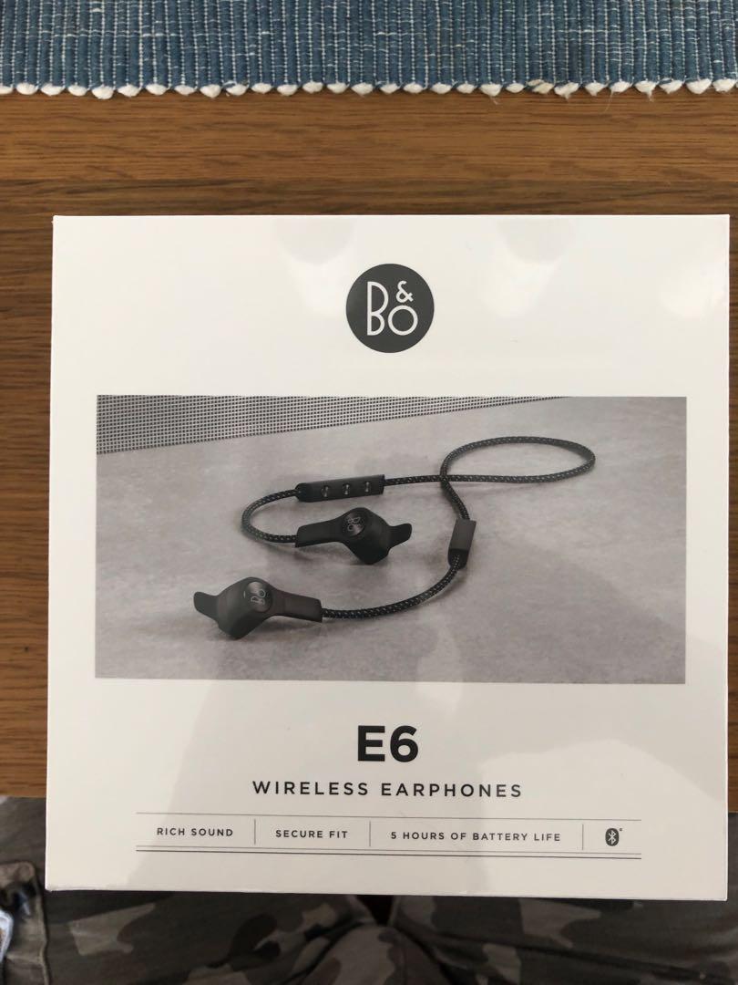 bf2732df2fe Bang & Olufsen BeoPlay E6 Wireless In-Ear Earphones (Black ...