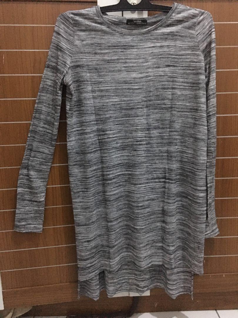 Bershka Slit Dress