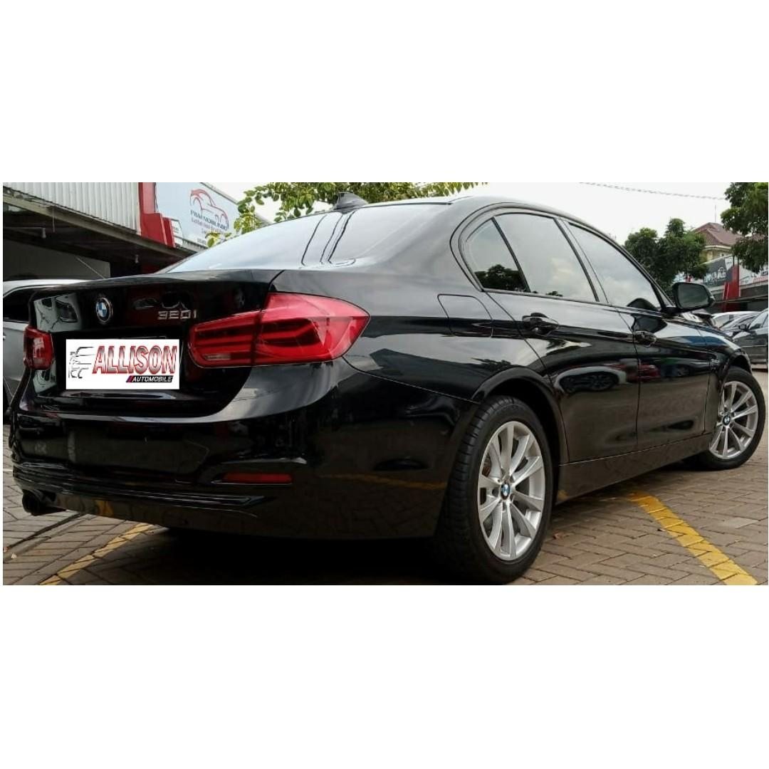 BMW 3280i Sport AT 2016 Black, Km 30 rb, Dp 74,9 Jt, No Pol Genap,
