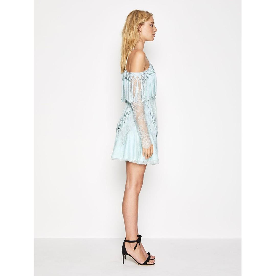 BNWT ALICE MCCALL ANTIQUE SEA SHES COSMIC DRESS - SIZE 4 AU (RRP $450)