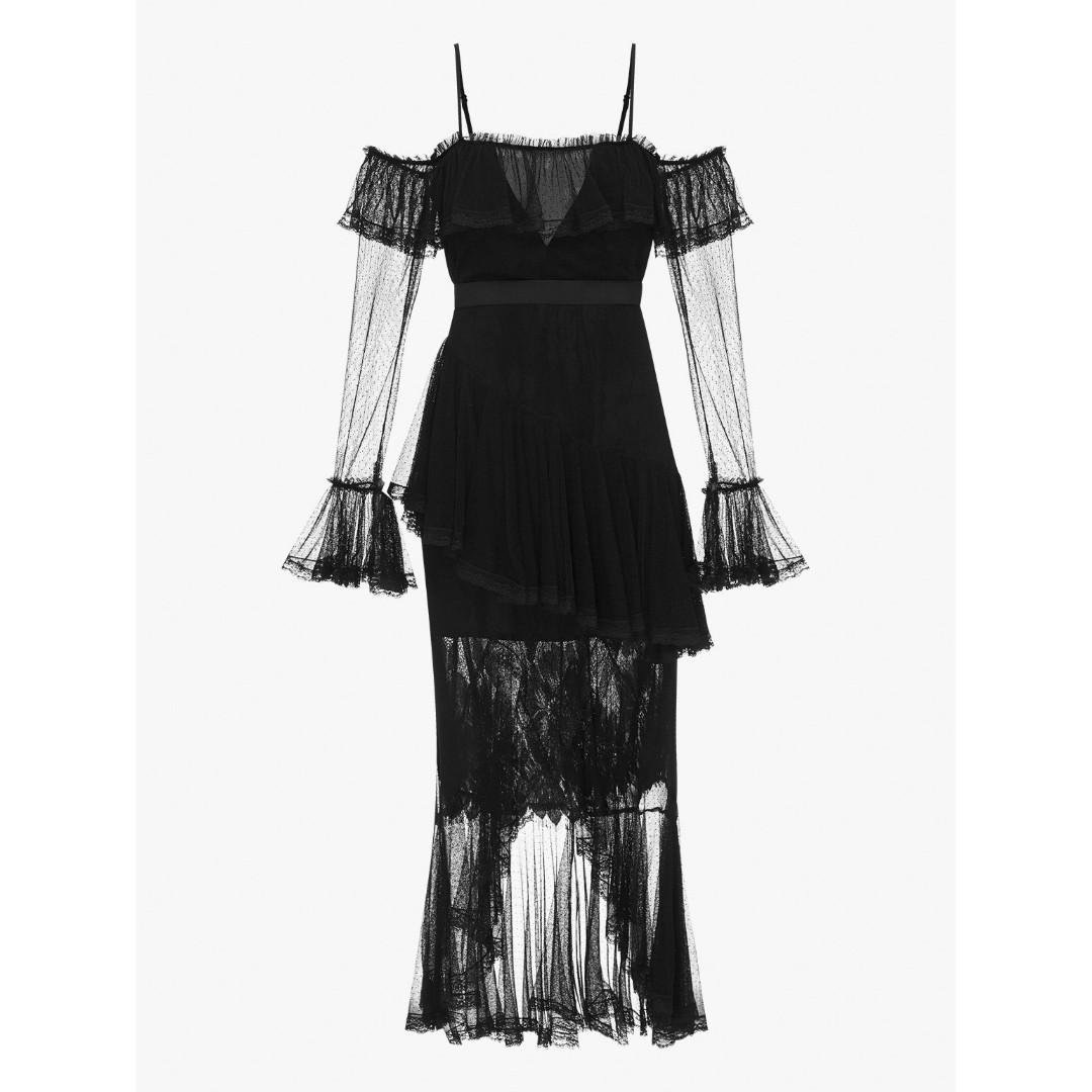 BNWT ALICE MCCALL BLACK ALL I KNOW DRESS - SIZE 8 AU (RRP $490)