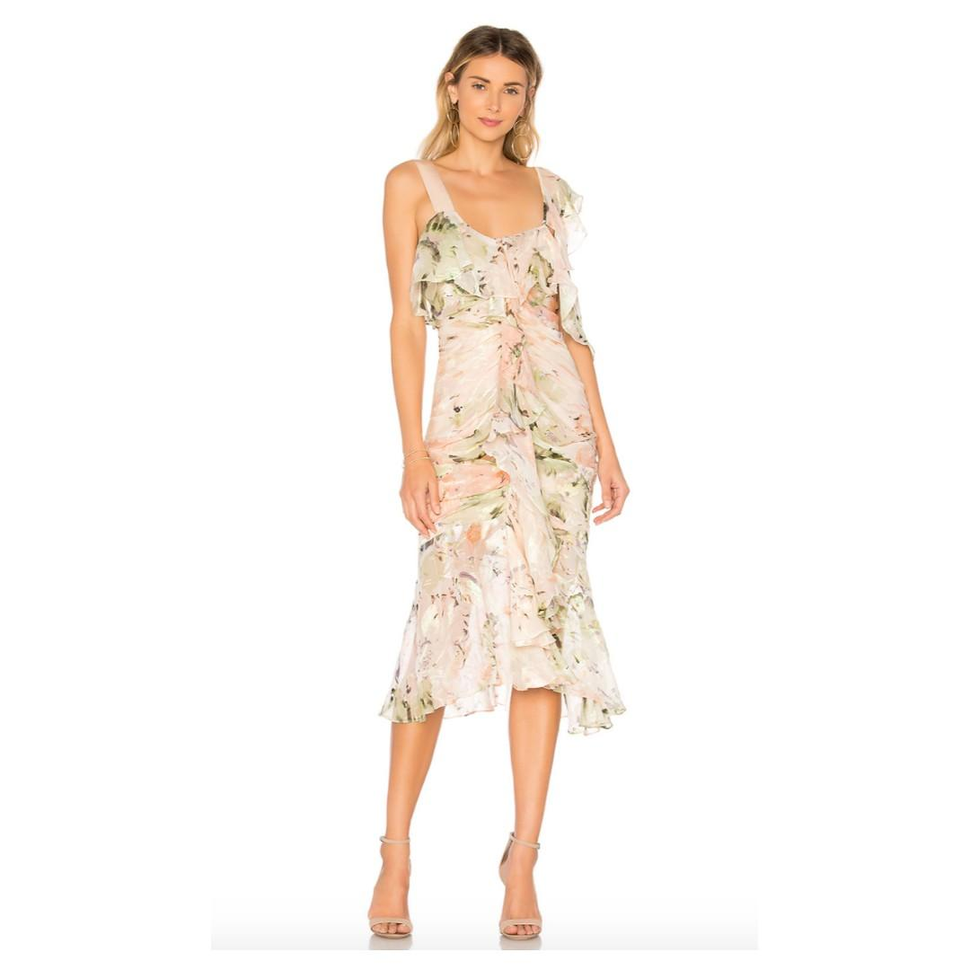 BNWT ALICE MCCALL BLUSH OH ROMEO DRESS - SIZE 8 AU (RRP $490)