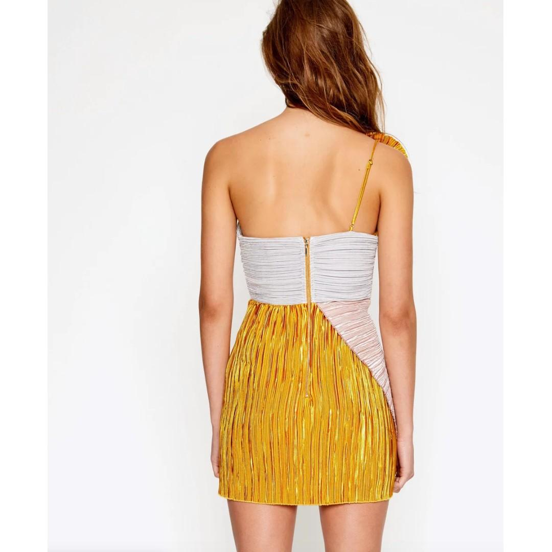 BNWT ALICE MCCALL MULTI LITTLE SOMETHING SOMETHING DRESS - SIZE 6 AU (RRP $420)