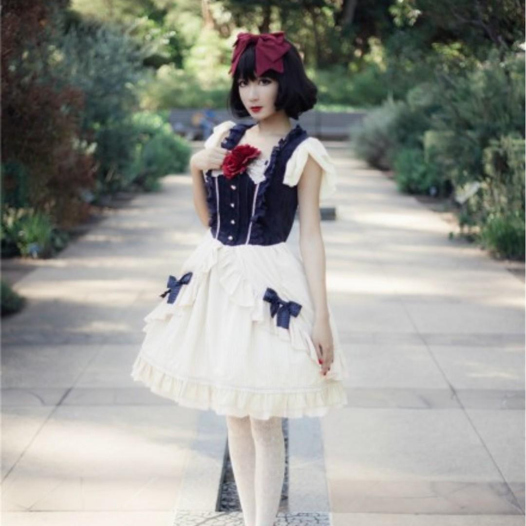 Brand New Infanta Disney Version Snow White OP Lolita Dress