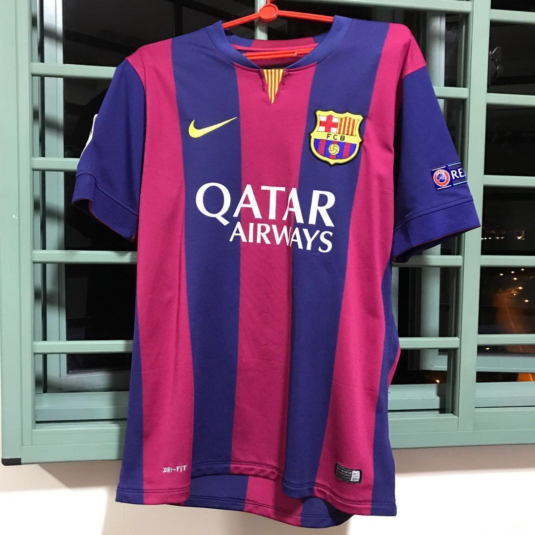 c1723a4a624 BRAND NEW Nike FCB Barcelona Jersey Messi 10, Sports, Sports Apparel on  Carousell