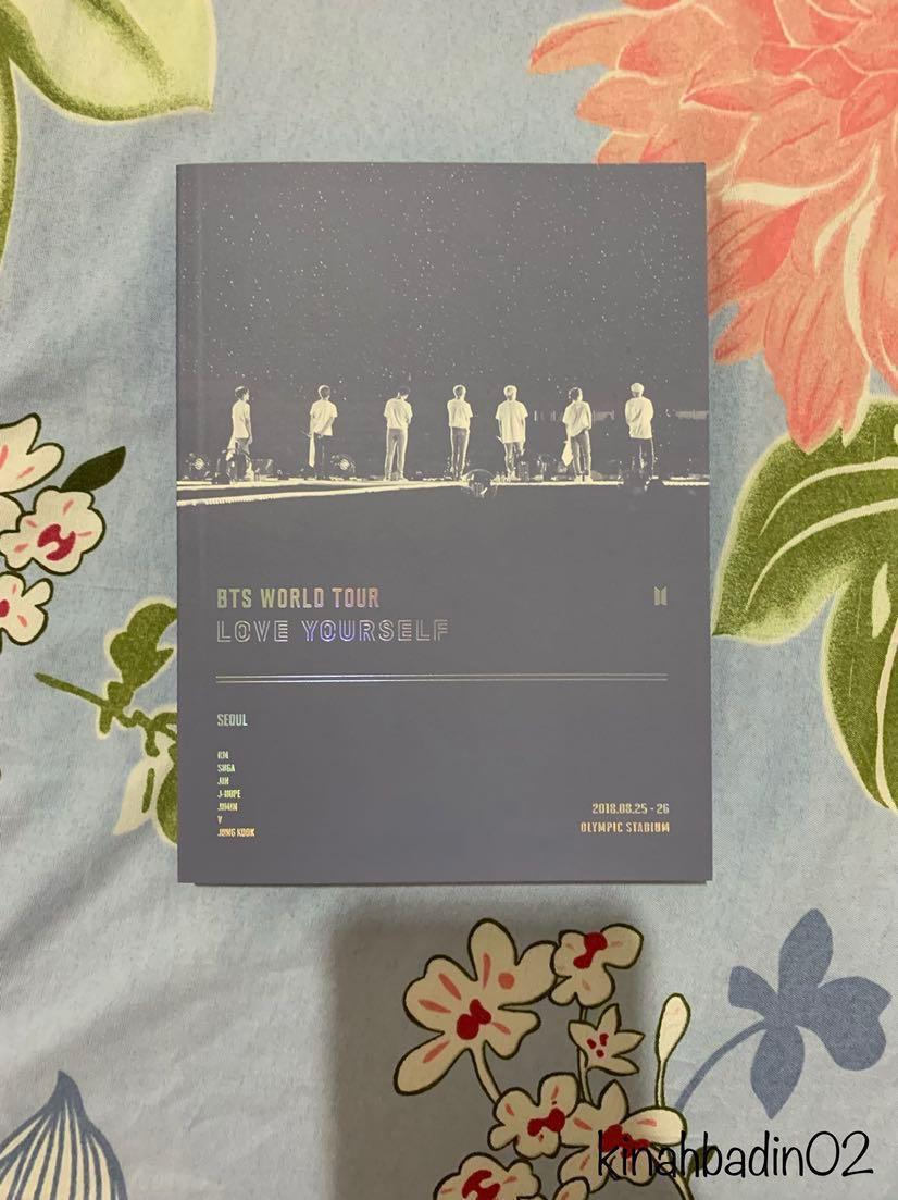 BTS LOVE YOURSELF IN SEOUL DVD