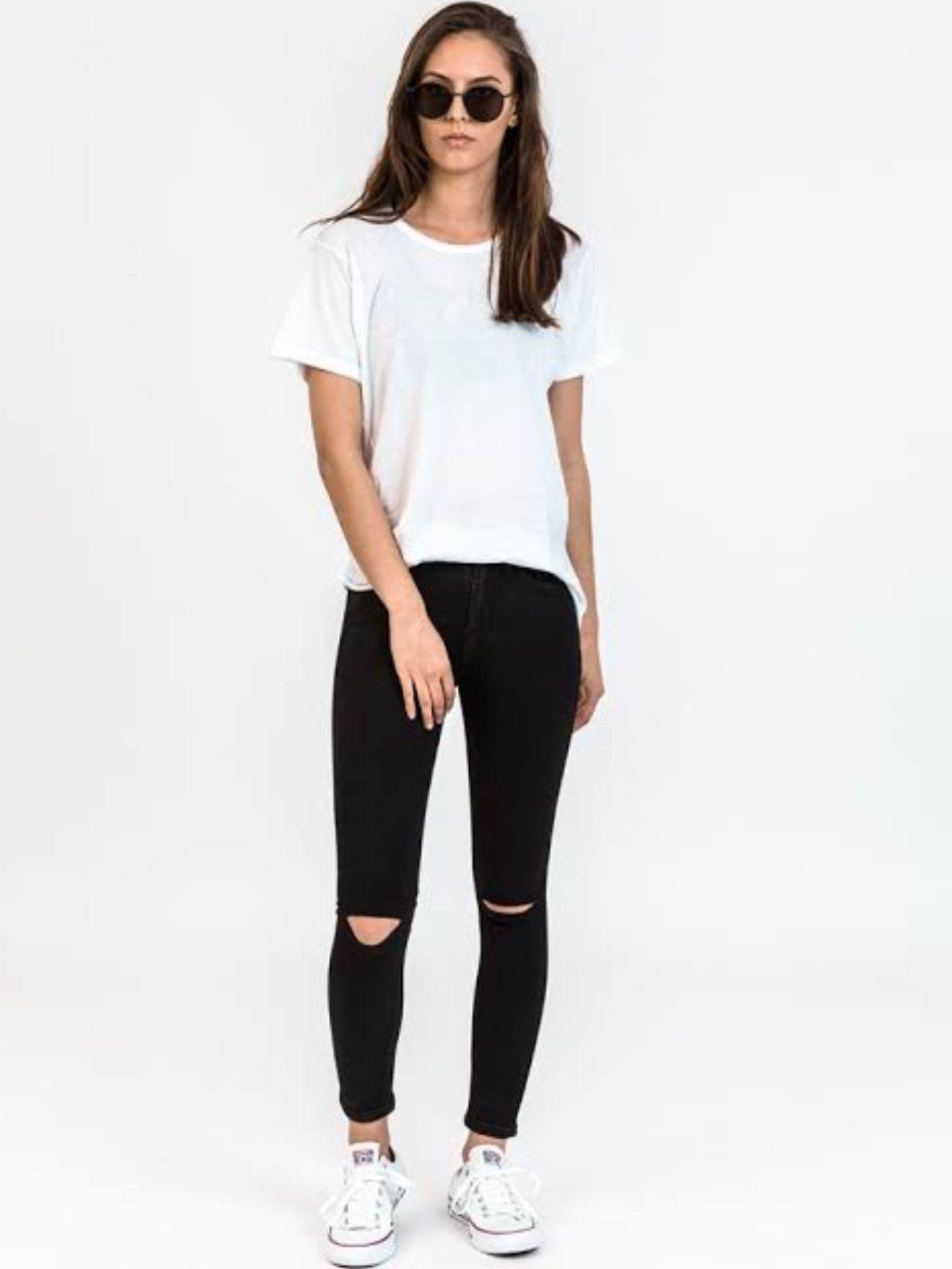 Camilla & Marc Stevie Skinny Distressed Jeans
