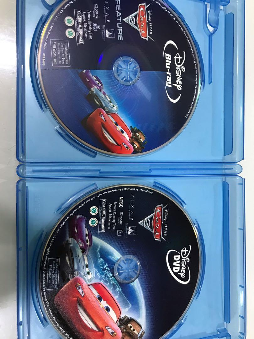 12 12 Clearance Sale Original Bluray From Us Cars 2 Gift Christmas Gift Music Media Cds Dvds Other Media On Carousell
