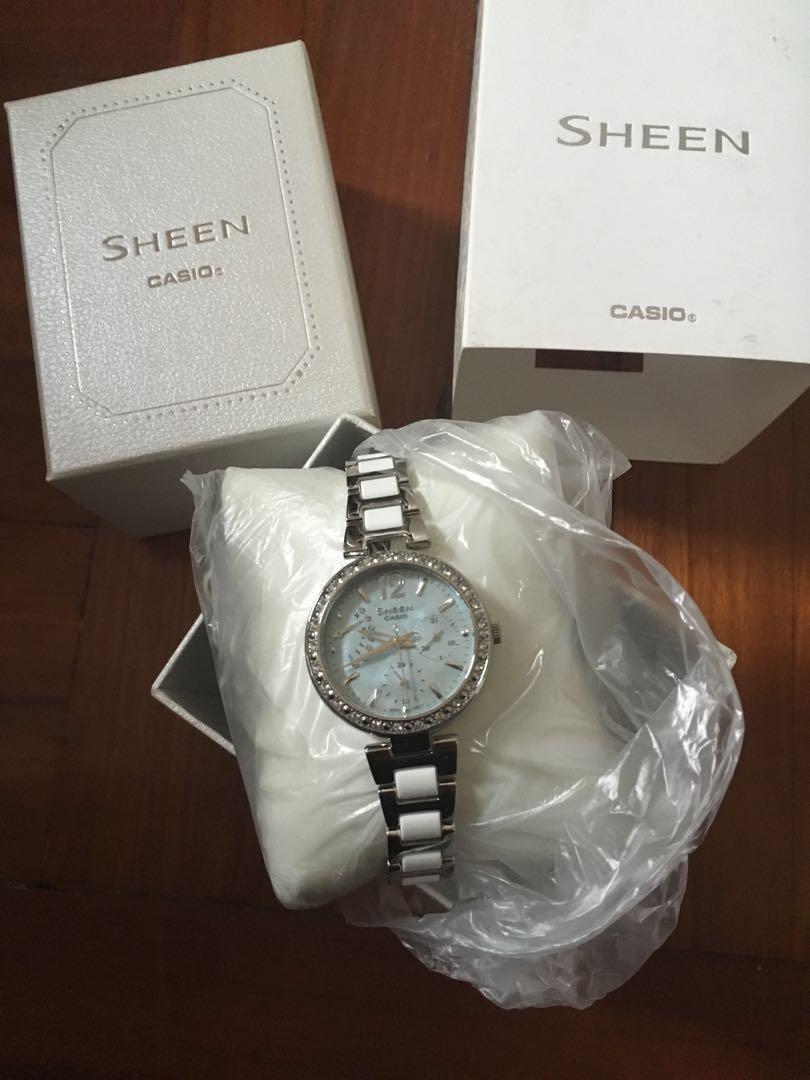 Casio Sheen watch
