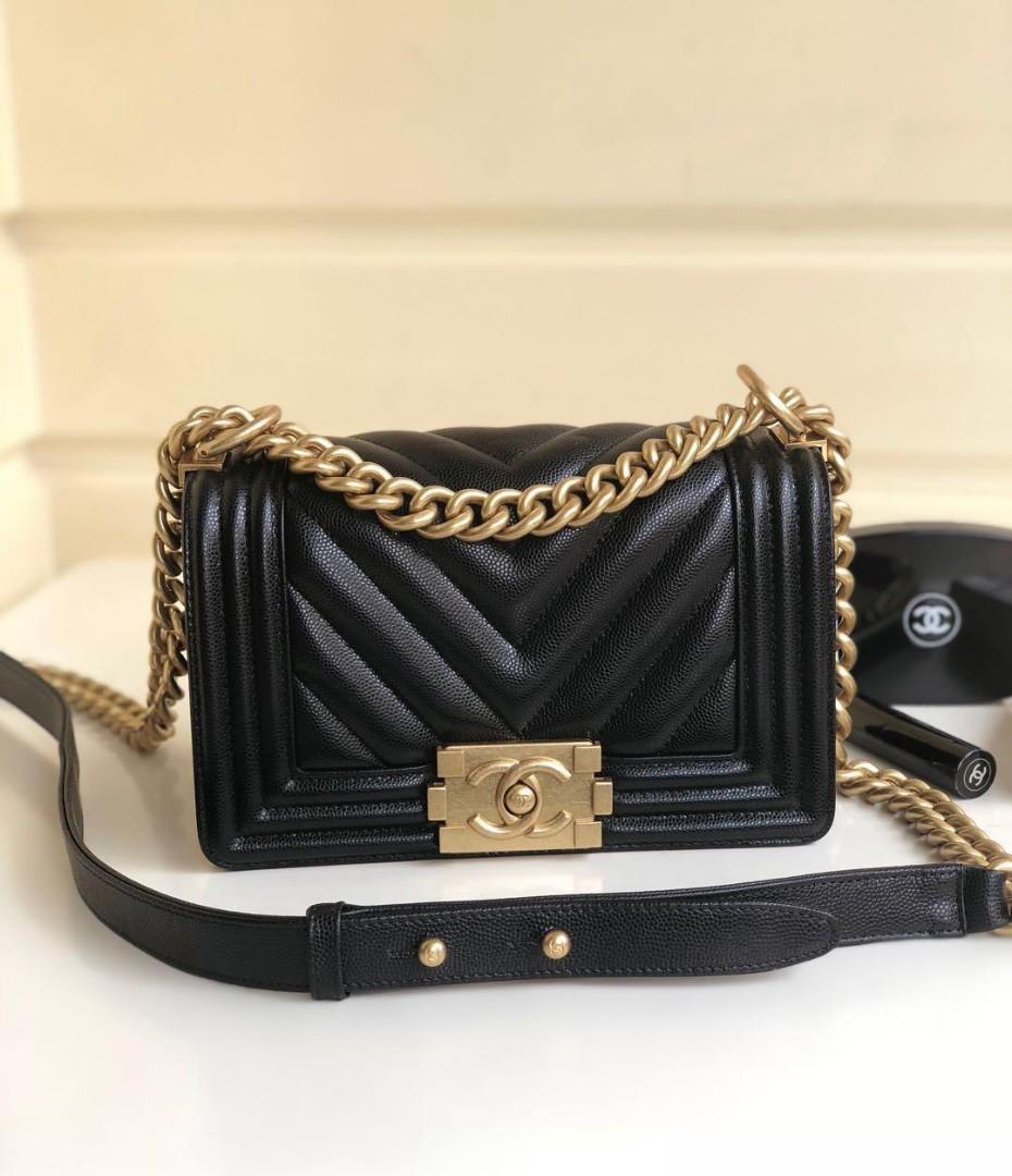 Chanel Classic Leboy CHEVRON, CAVIAR  HALUS, 670855 , SUPERMIRROR, w20xh12xd6cm  H  @3. 2jt  Berat 1kg