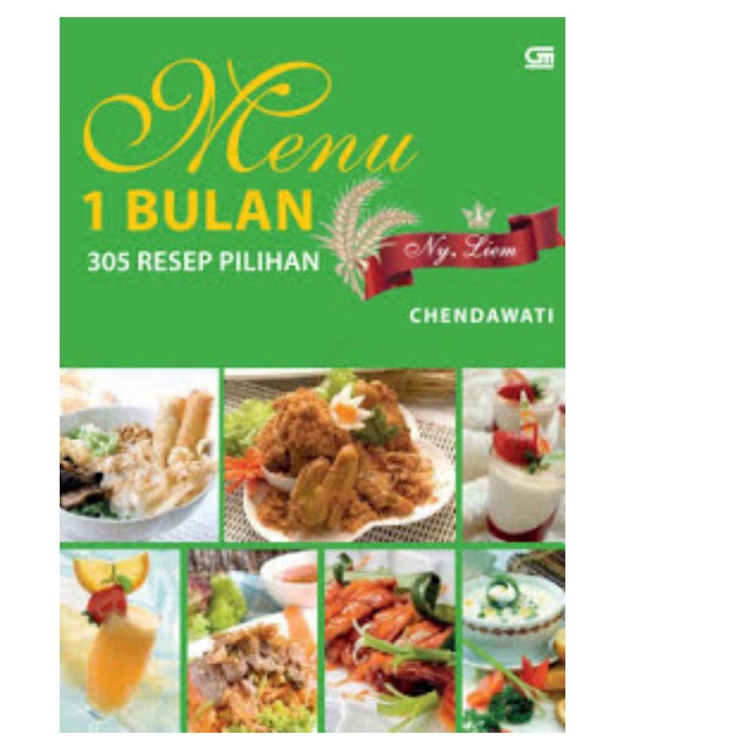 Ebook Menu 1 Bulan - 305 Resep Pilihan Ny. Liem - Chendawati