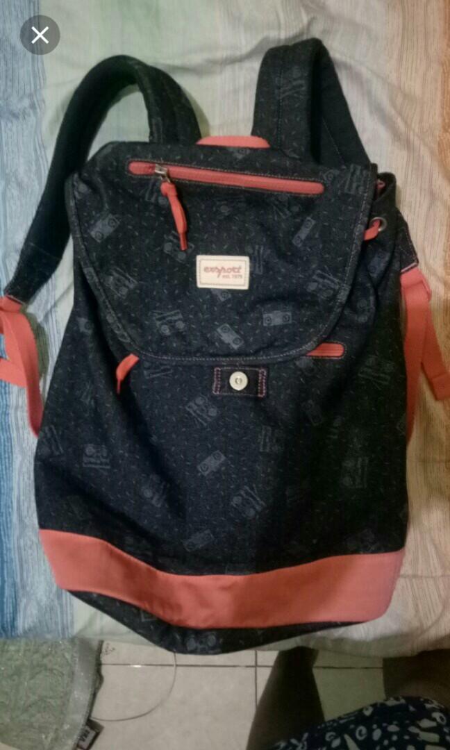 exsport backpack bag ransel sekolah
