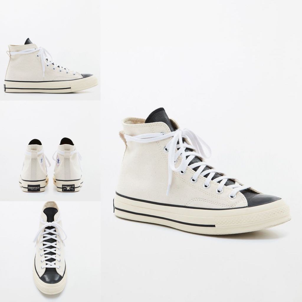 91f3ae36dcf942 Fear Of God Essentials x Converse Chuck 70 High Top Shoes