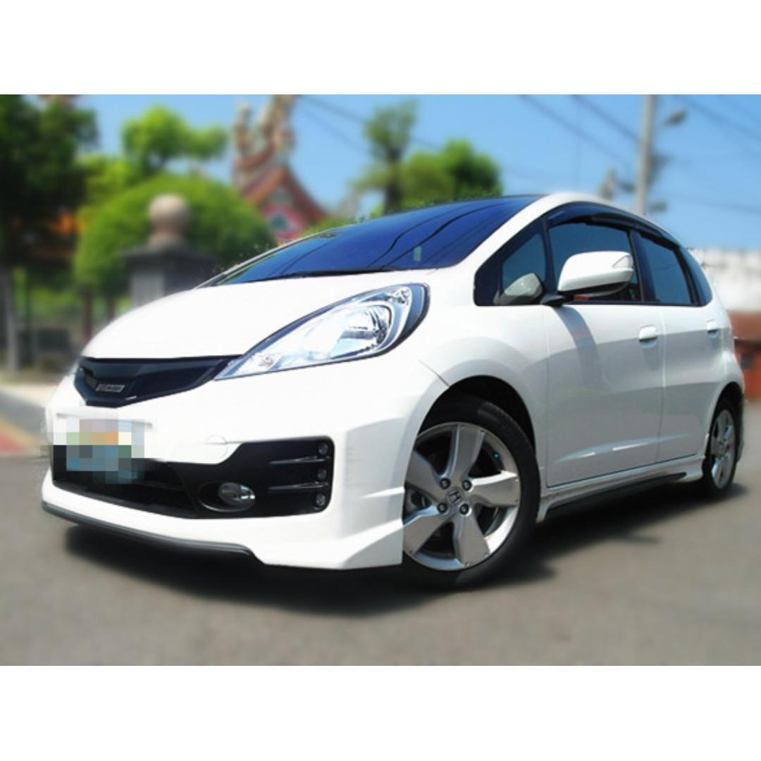 本田-FIT 10年 漂亮車無事故 高級原廠 可全額貸😍😍