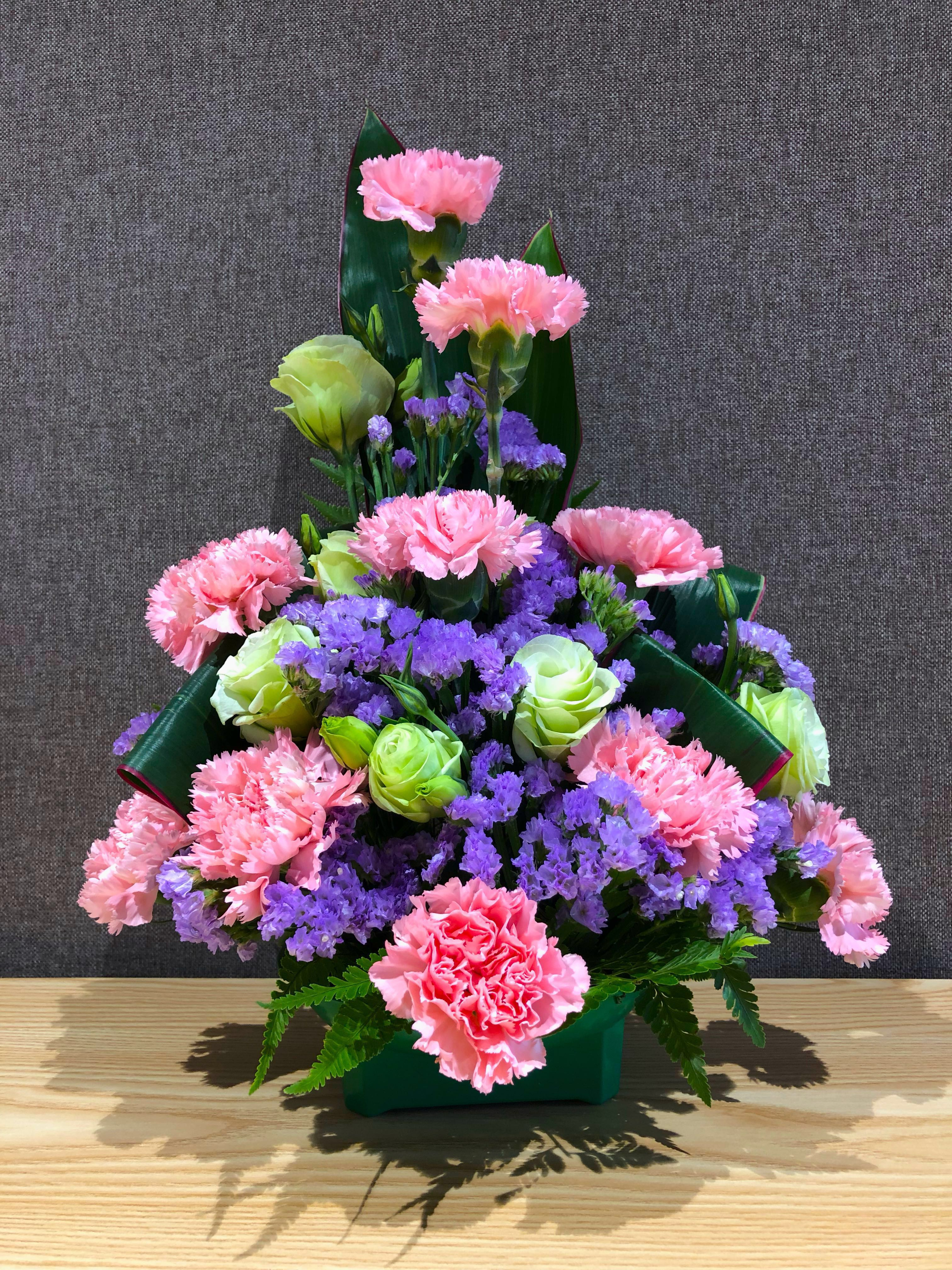 Flower Arrangement Box Mother S Day Special Gardening Flowers Bouquets On Carousell