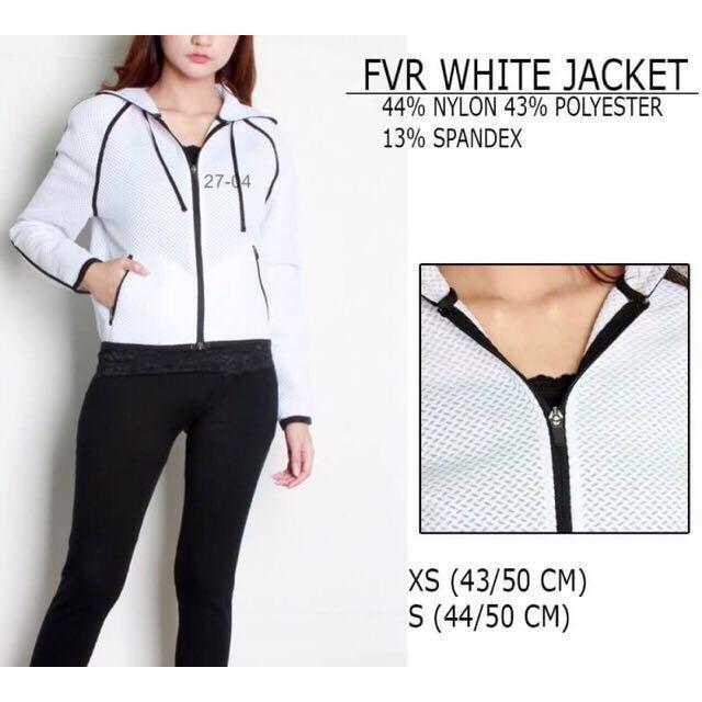 FOREVER 21 jacket white