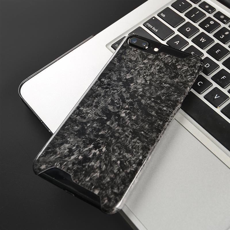 Carbon Fiber Iphone Case >> Forged Carbon Fiber Case For Iphone 7 Plus And 8 Plus Mobile Phones