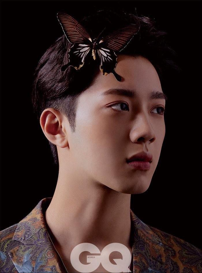 GQ KOREA MAGAZINE MAY ISSUE 2019 (LAI KUANLIN INTERVIEW 18P)