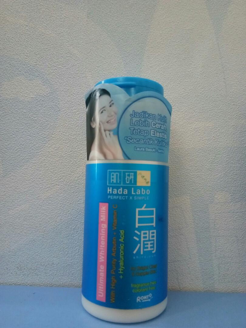 Hada Labo Ultimate Whitening Lotion & Milk