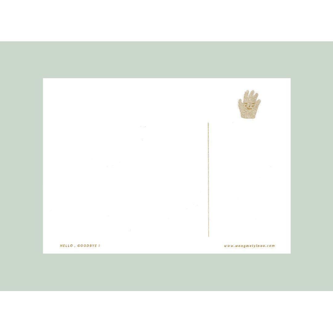 HELLO & GOODBYE (risograph postcard)