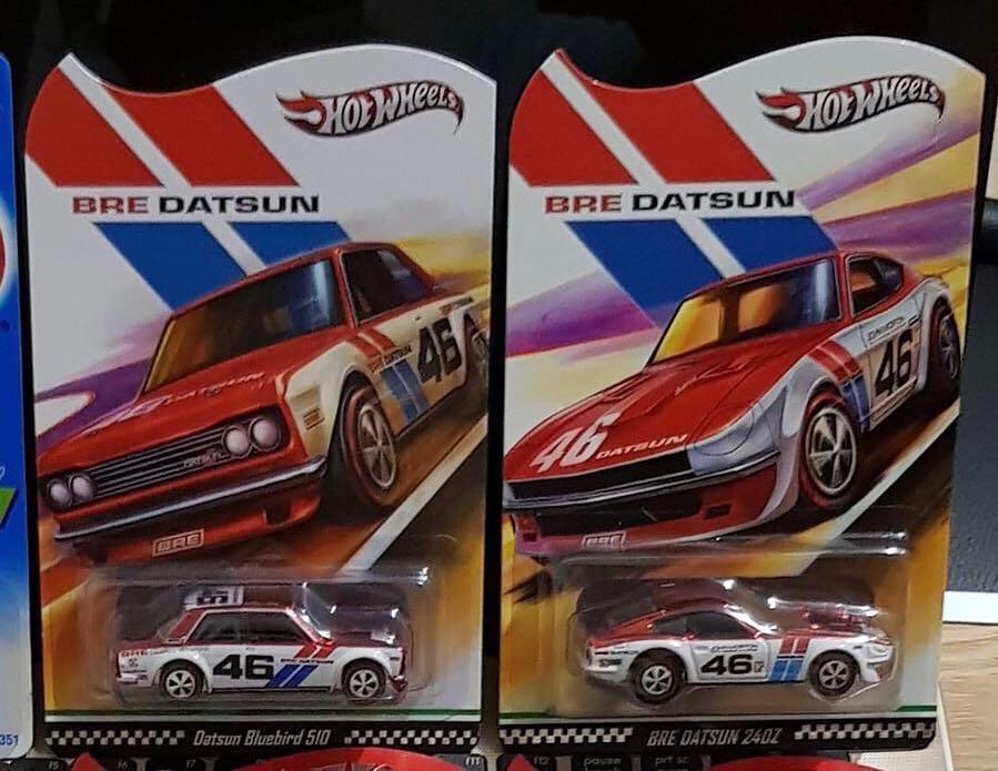 Hot Wheels BRE Datsun 510 & 240Z, Toys & Games, Bricks