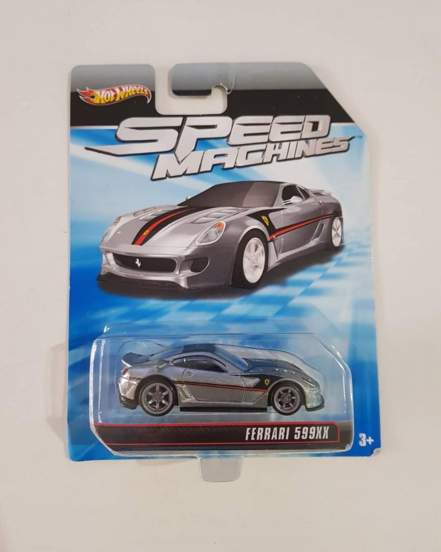 Sold Hot Wheels Speed Machine Zamac Ferrari 599xx Toys Games Others On Carousell