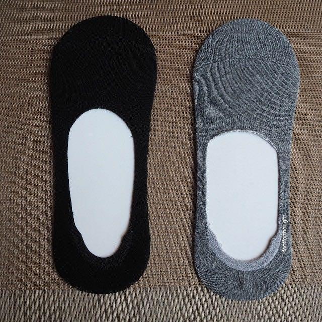 [INSTCK]BN Men's Good Quality Invisible Boat Socks With Antislip
