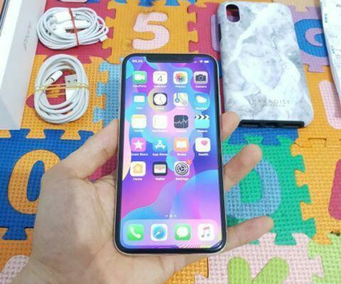 iPhone X 64GB SILVER (Ibox)