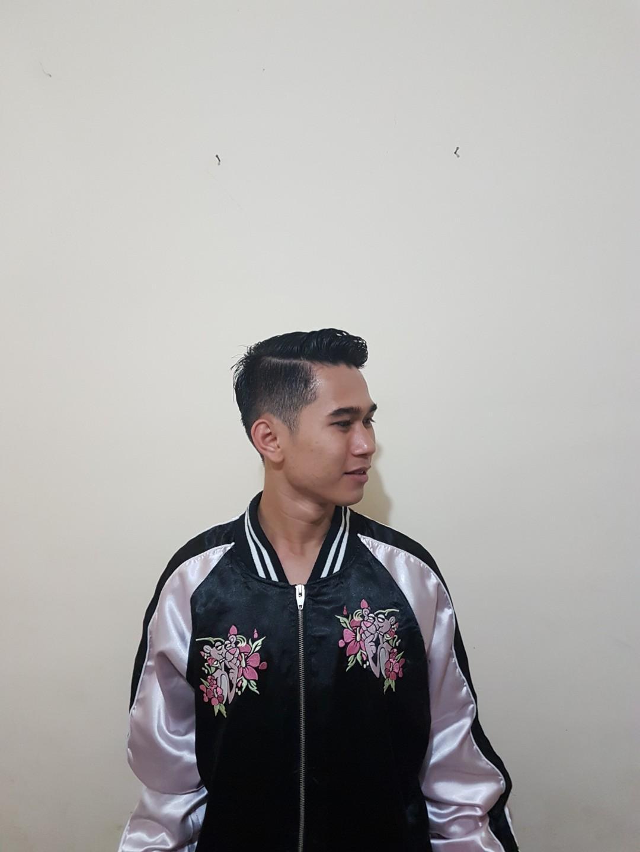 Jaket Sukajan Pink Panther