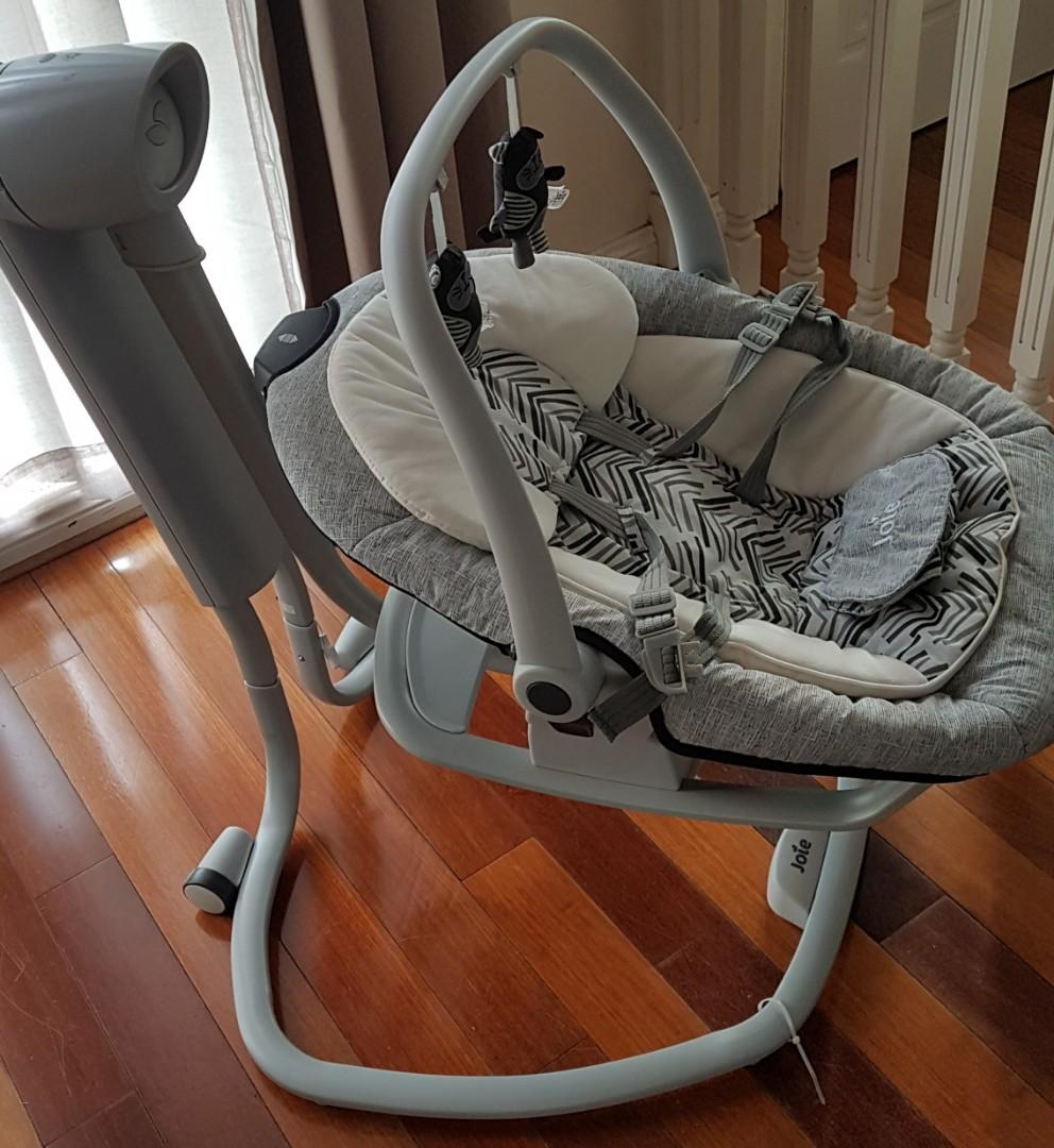 Joie Sarina 2in1 Swing Abstract Arrows Multi Motion Ride.
