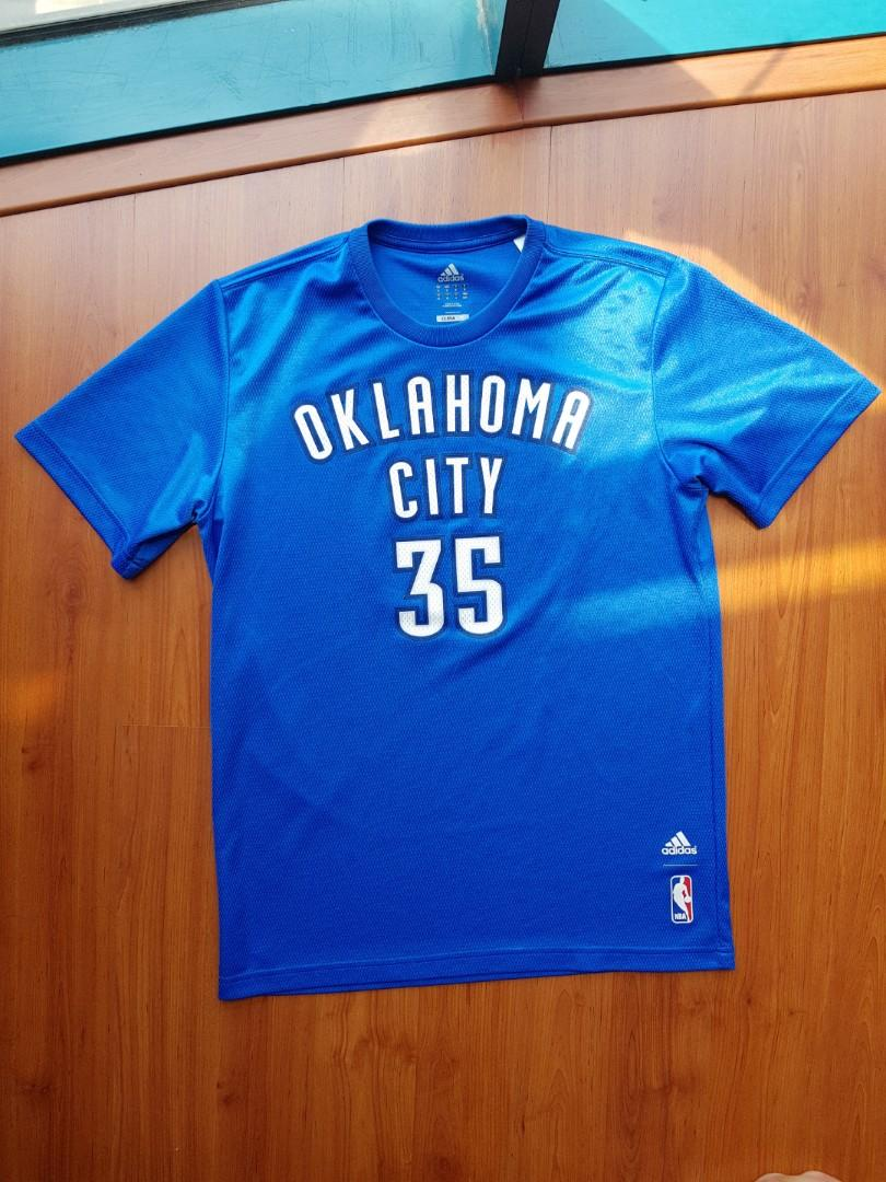 save off 3b520 0745e Kevin Durant OKC Jersey Shirt on Carousell