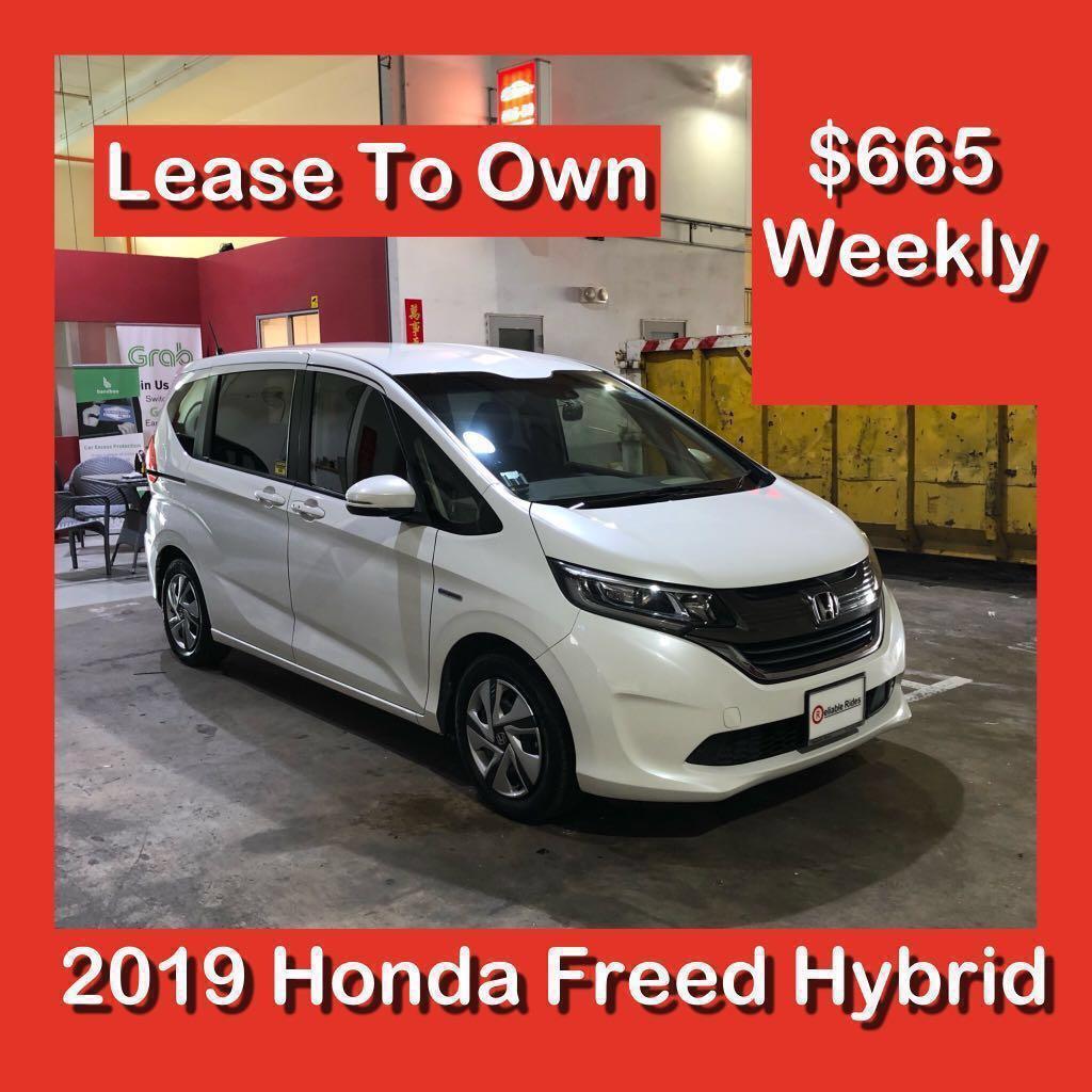 Lease To Own - Honda Freed Sensing Hybrid 2019 Brand New MPV  - LTO