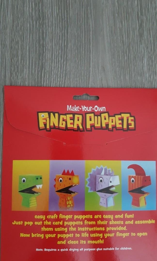 Make- Your- Own Finger Puppets