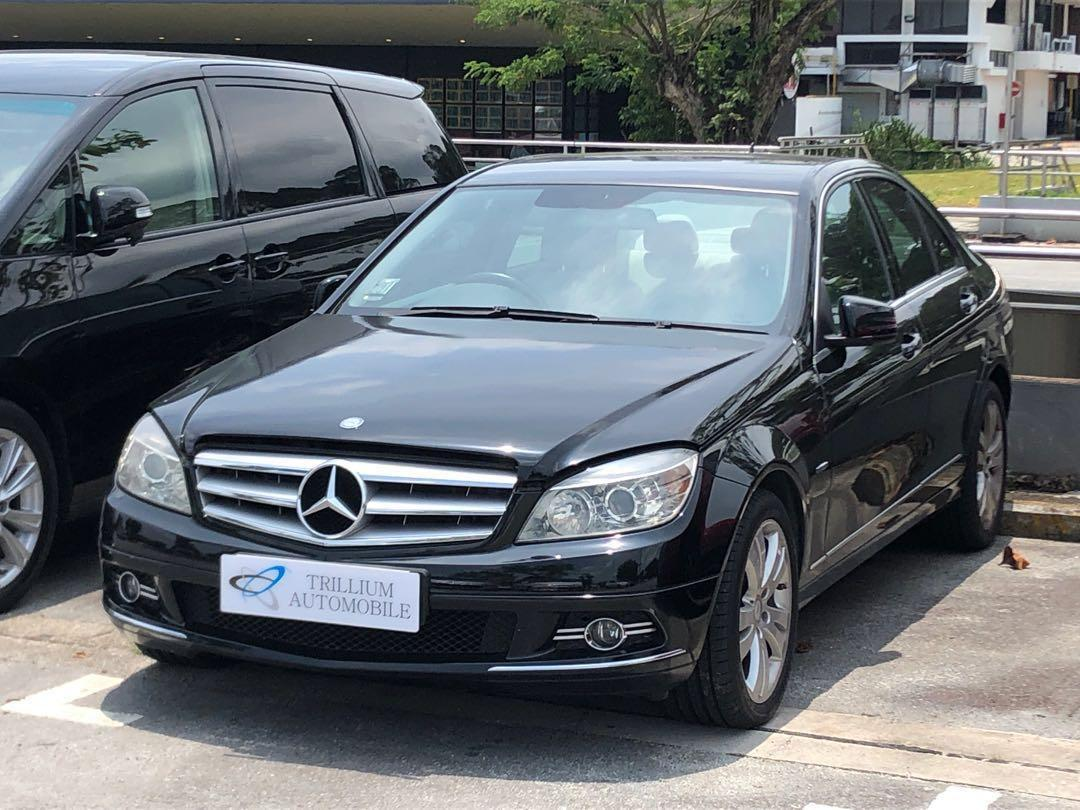 CNY Special! Mercedes C180K on Rent!