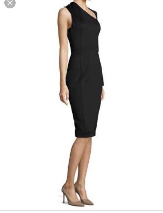 Misha Collection Vivian one shoulder Dress