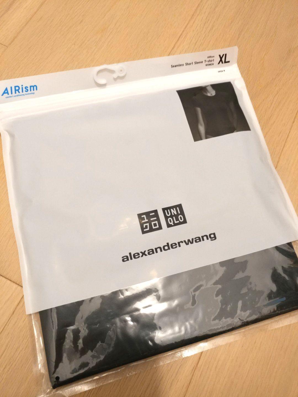 (NEW) alexander x uniqlo T-shirt AIRism