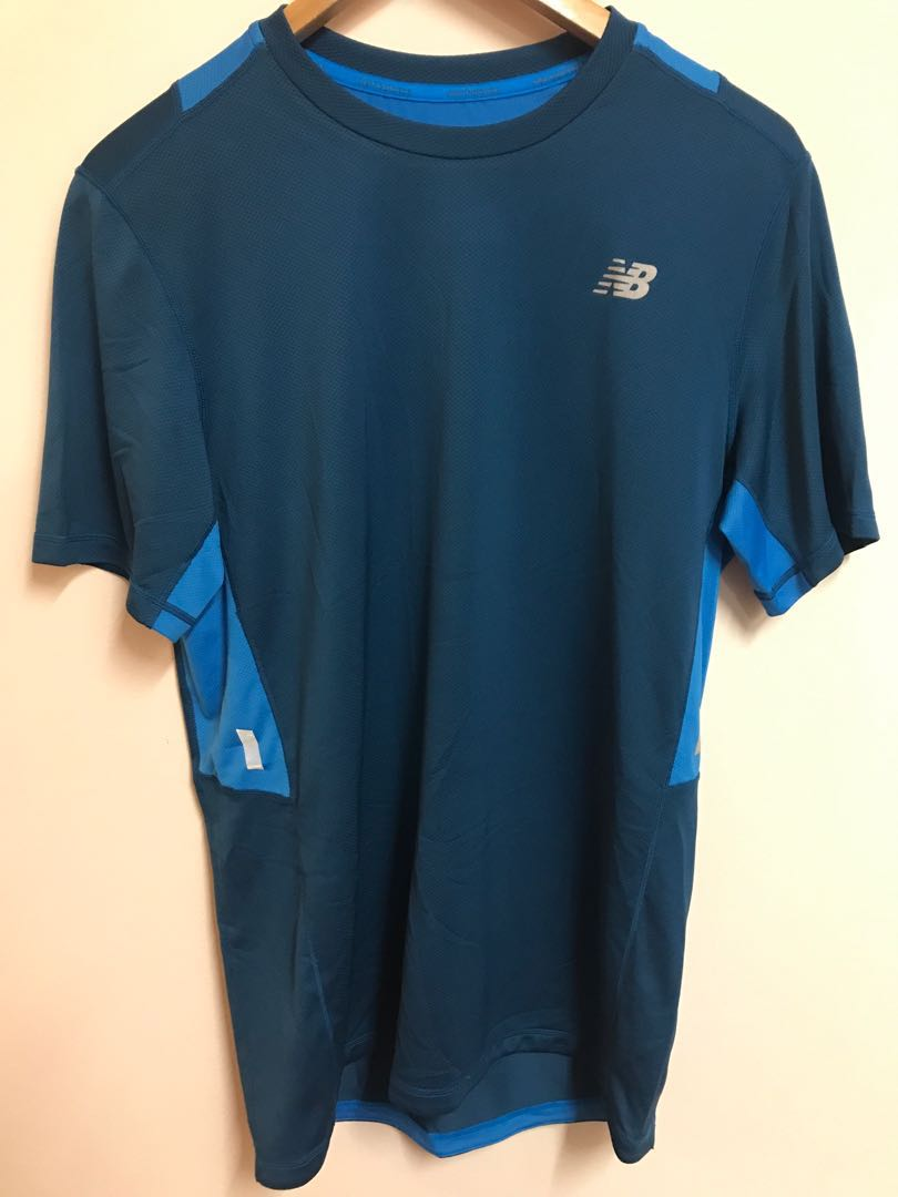 f9998e5fbaa6b New Balance Dry Fit Shirt, Sports, Sports Apparel on Carousell