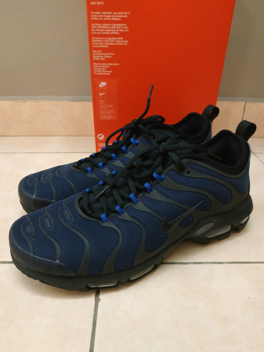 finest selection 660c4 f9632 Nike Air Max Plus TN Ultra Blue/Black for sale.