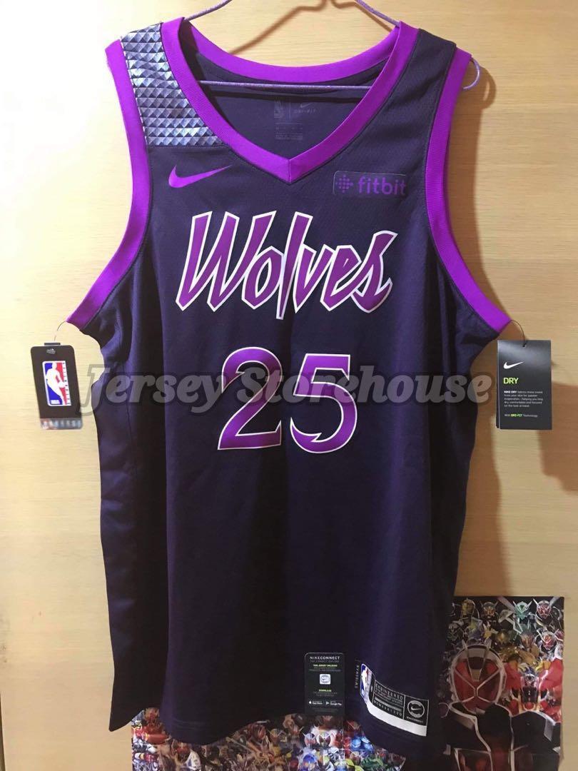 Nike Nba Derrick Rose Minnesota Timberwolves City Edition Swingman