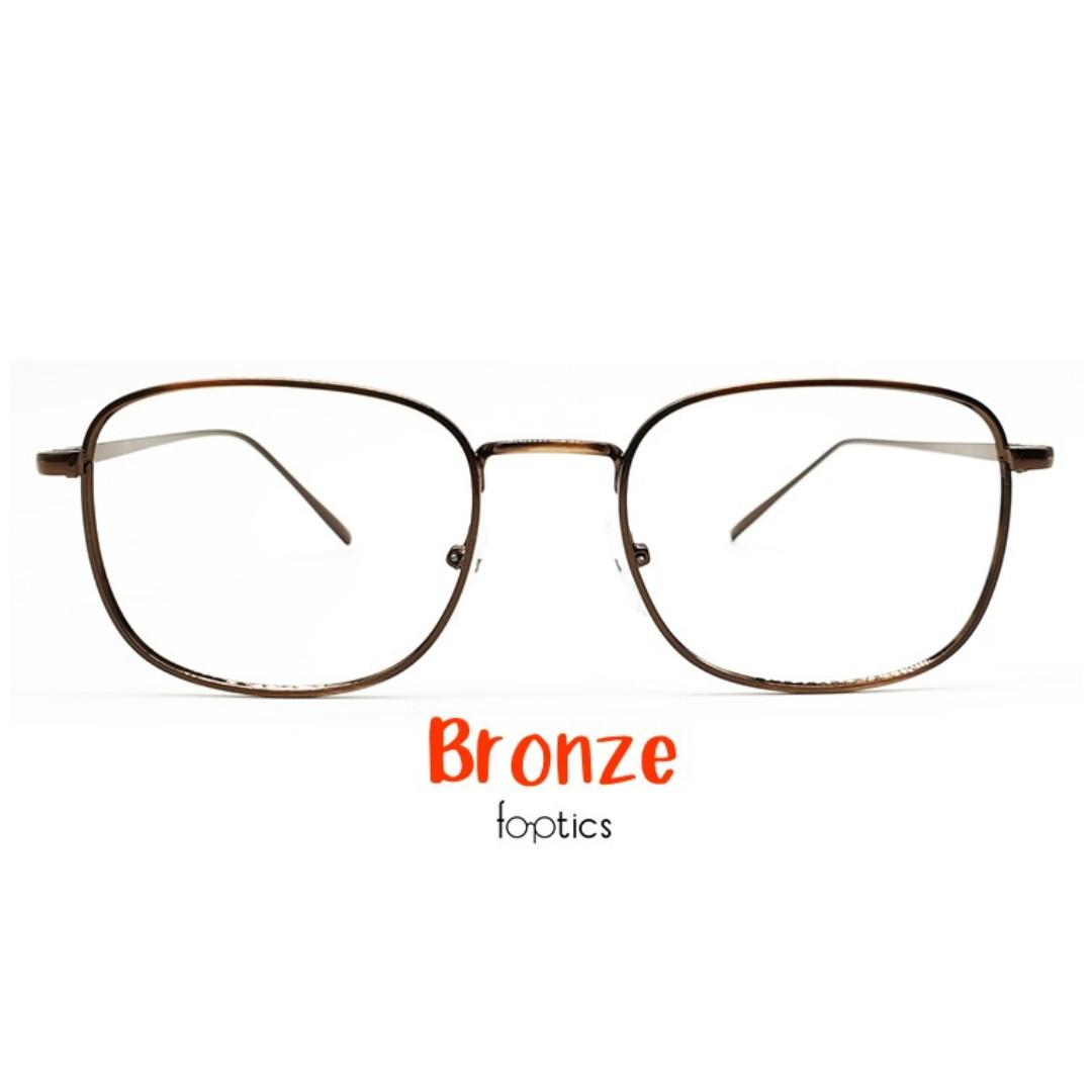 Novel 2 in Bronze - foptics Eyewear - Prescription Glasses in Singapore