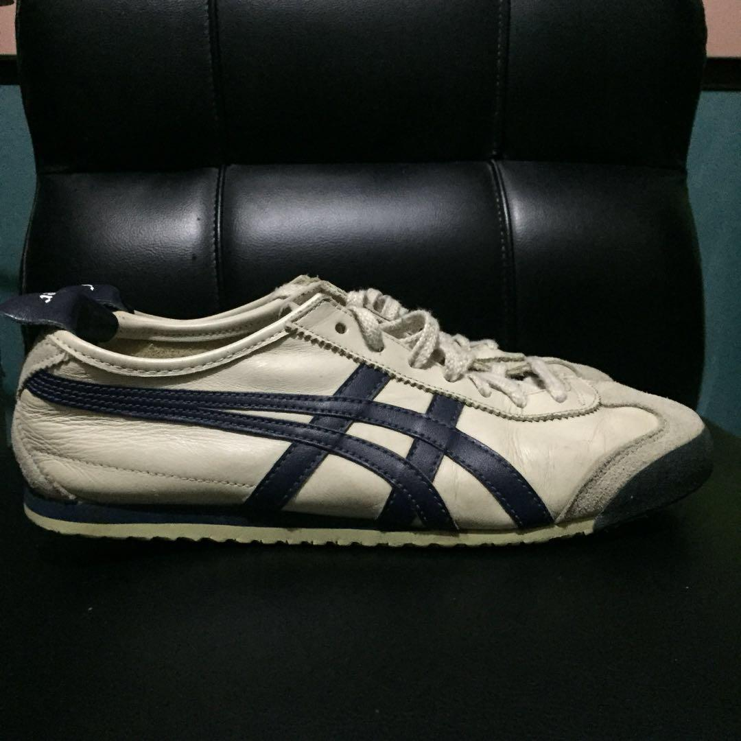 buy popular 3dab3 9b5aa Onitsuka Tiger Mexico 66 Birch/India Ink/Latte on Carousell