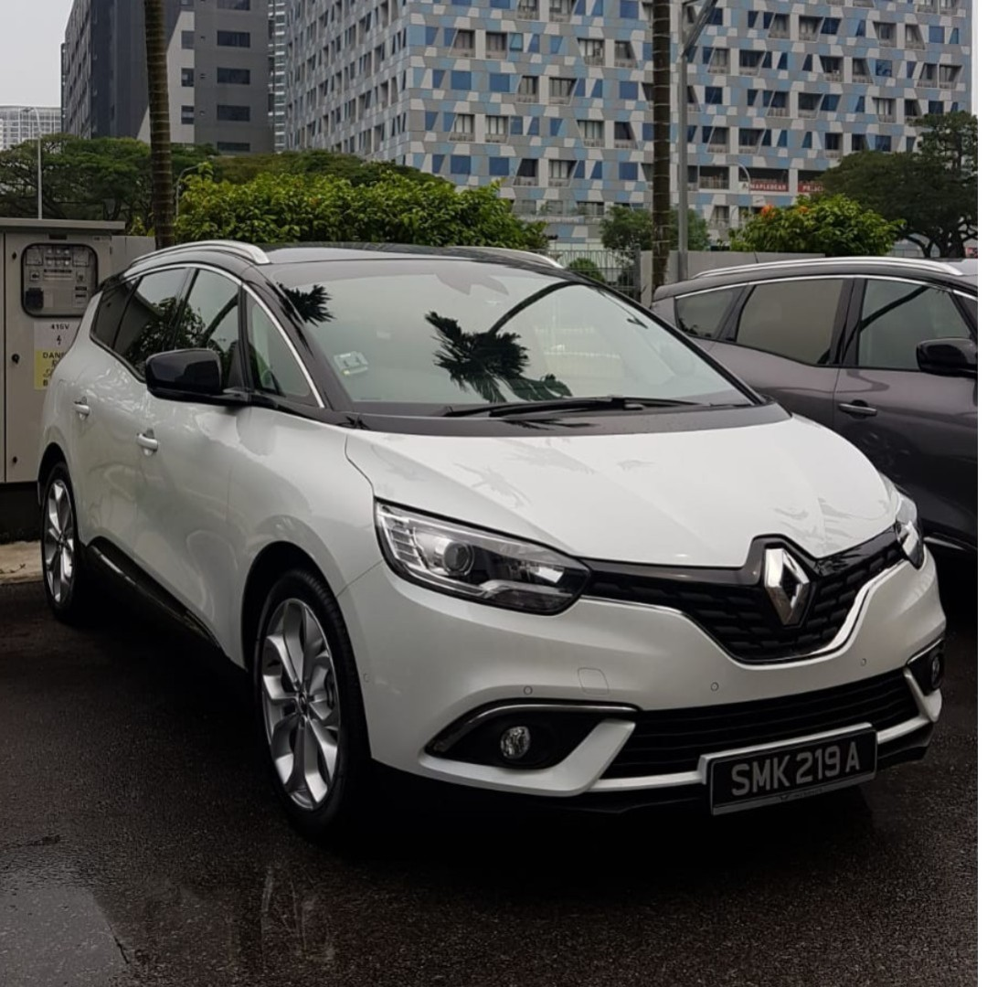Phv Brand New Renault Grand Scenic Diesel For Rent Cars Vehicle